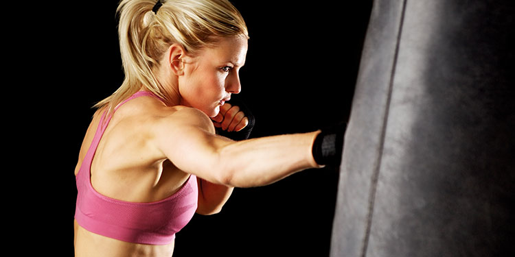 martial arts fitness lady